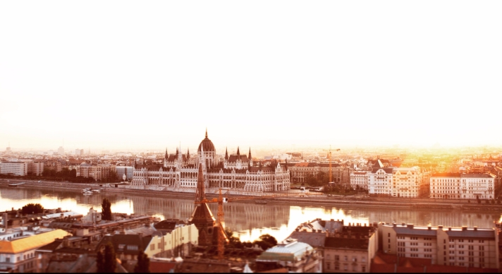 There are so many unique reasons to visit Budapest, including all these beautiful sunrises.