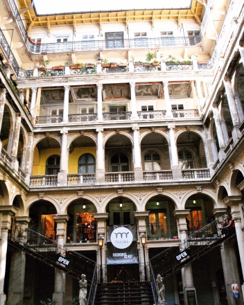 There are so many unique reasons to visit Budapest, including all these secret courtyards.