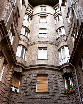 There are so many unique reasons to visit Budapest, including all these hidden courtyards.